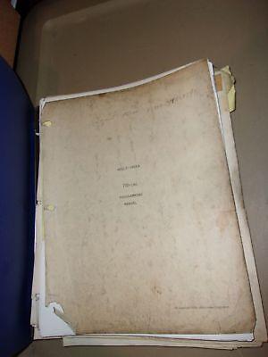 Wells Index 700-cnc Programming Manual