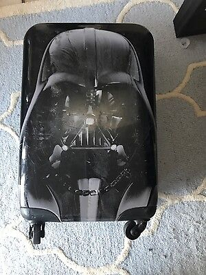 darth vader suitcase hardsided and game/charger carry-on case