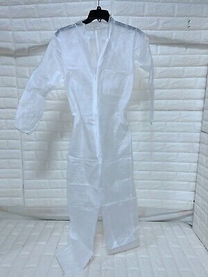 New Lakeland C9433 Protective Suit Protection Coated Front Sm Md 3xl 5xl 1 Piece