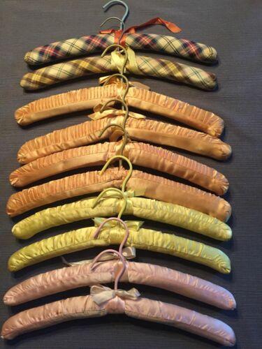 Vintage Ladies Satin Hangers