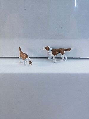 Arttista 2 Hunting Dogs #1279 - O Scale On30 On3 figures bird dogs artista New