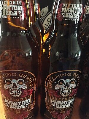 DEFTONES Belching Beaver Phantom Bride IPA 2016 Release, EMPTY BOTTLE