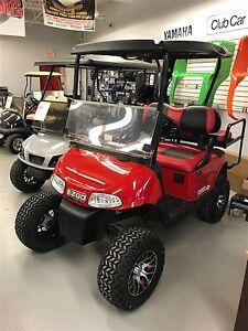 2013 e-z-go RXV 48V Electric RED/BLACK Golf Cart
