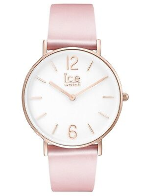 Ice-Watch ICE-CITY  Uhr Damenuhr Lederarmband Rosa 015756