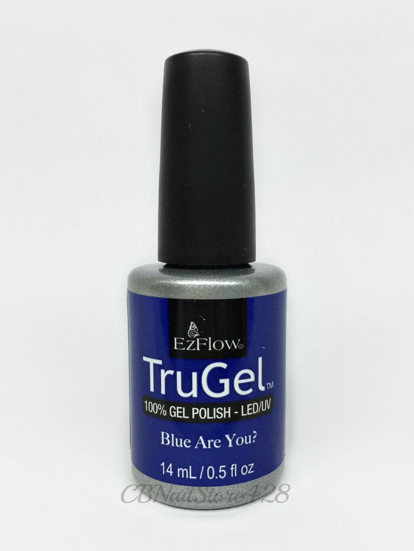 EZFlow TruGel - UV Gel Polish- ESCAPE TO WANDER-LAND- 0.5oz- Pick any Color