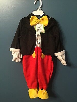 Disney Baby MICKEY MOUSE 6-9 Months NEW Toddler Children infant costumes (Infant Costumes 6 9 Months)
