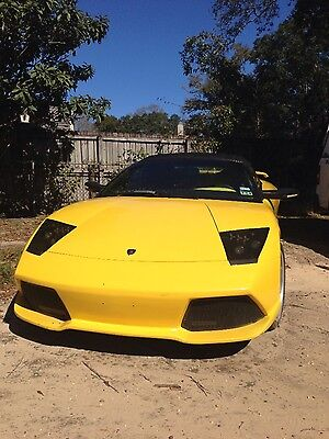 2008 Lamborghini Murcielago GXP Convertible 2-Door Kit car replica 2008 Lamborghini Mercy