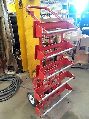 Smartcart 2-wheel Heavy Duty Cart Wire Reel Caddy