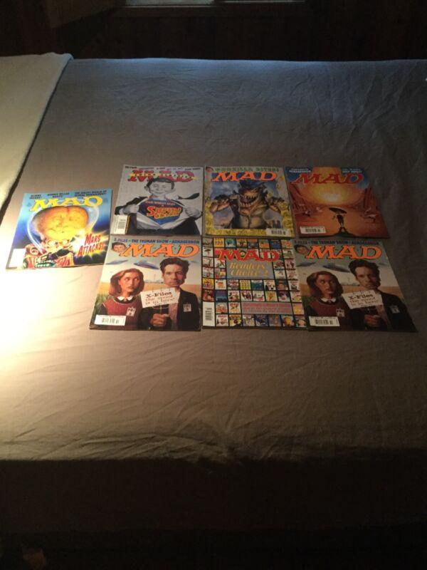 7 Mad Magazines 1997-2000