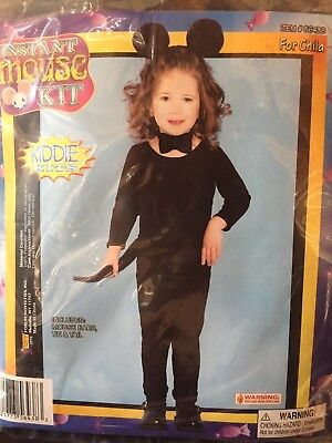 Instant Mouse Kit for Child Simple Halloween Costume NEW