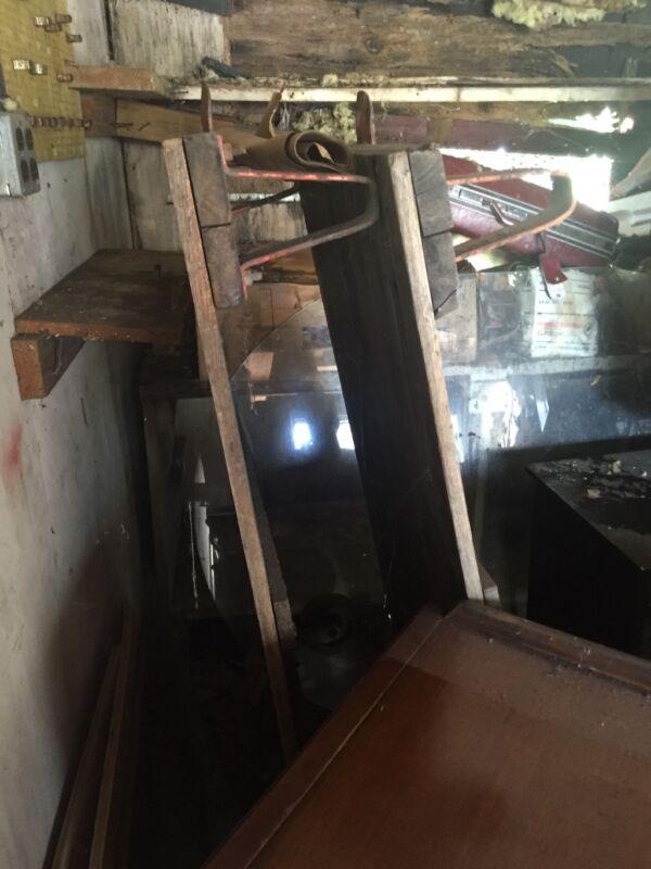 Antique Factory Railroad Vintage Industrial cart
