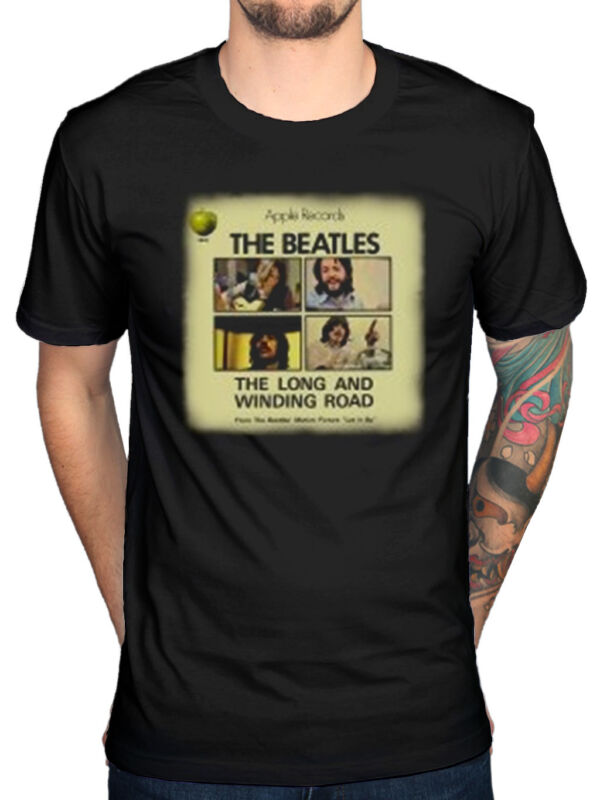 Officiel The Beatles Sgt Pepper T-shirt Lennon McCartney fab four Lonely Hearts