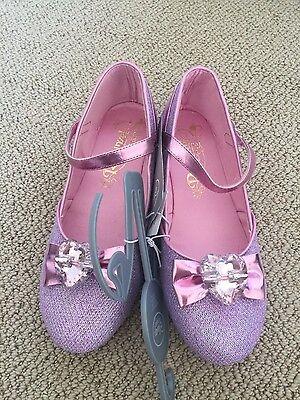 Brand New Disney Repunzel Costume Shoes & Tiara](Repunzel Costume)