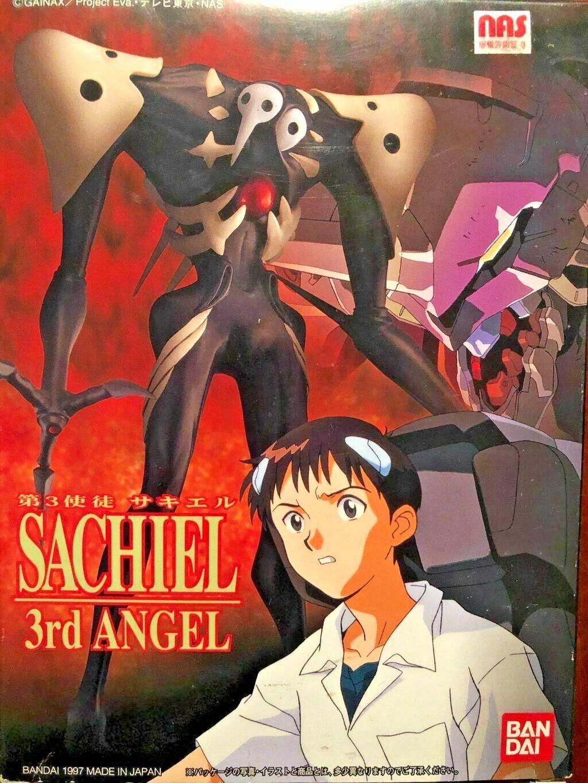 LM022 Evangelion 3rd Angel Sachiel Bandai 1997 Vintage Model Kit