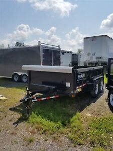2014 Maxum Trailers LIKE NEW 6'X12' - 6 TON DUMP TRAILER
