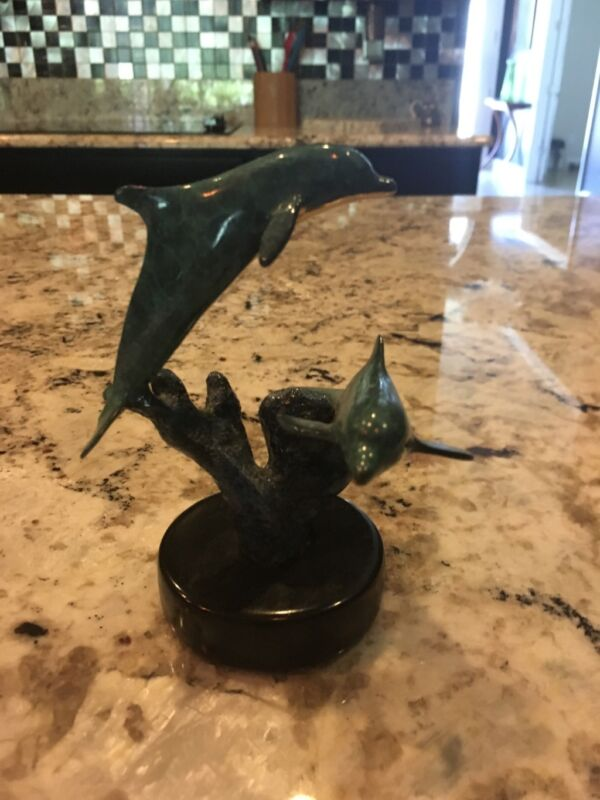 lassen dolphin sculpture