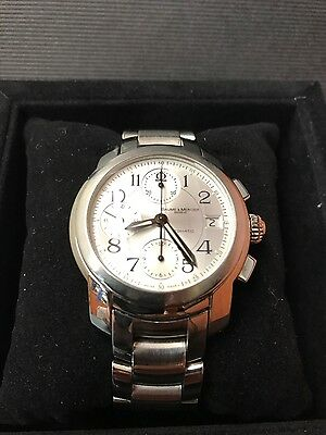 Baume Mercier MV045216 Capeland Chronograph SS Automatic Men's Watch