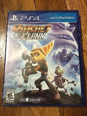 Ratchet & Clank (Sony PlayStation 4, 2016) Brand new