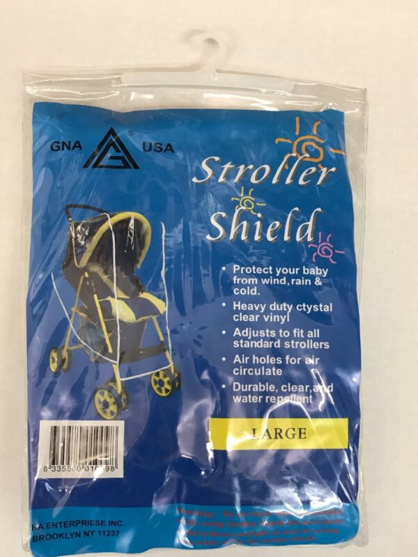 Weather Shield Stroller Rain Cover Canopy Standard Stroller Large Size
