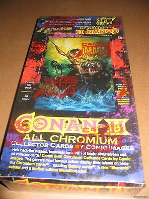 Conan Series 2 II All Chromium Trading Card Box