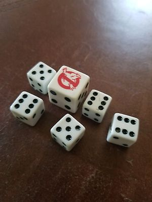 Ghostbusters ghost dice die West End Games RARE