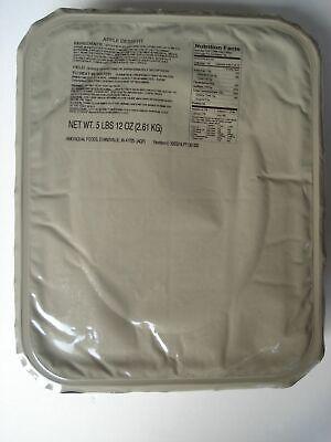 US Army MRE EPA Apple Dessert,18 Portionen, Verpflegung, Ready to eat, Notration