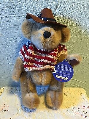 Brass Button Pickford Bears Cody the Bear of Friendship Plush Doll 9""
