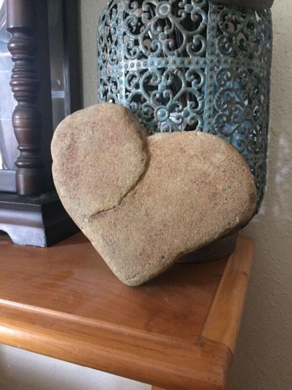 Natural HEART shape rock