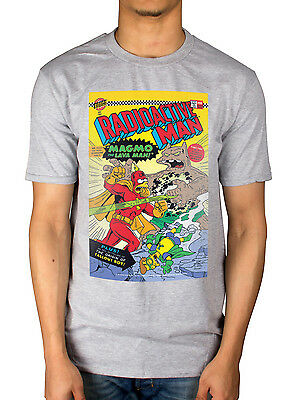Simpsons-radioactive Man (Official The Simpsons Radioactive Man T-Shirt Homer Comic Duff Beer New Merch)