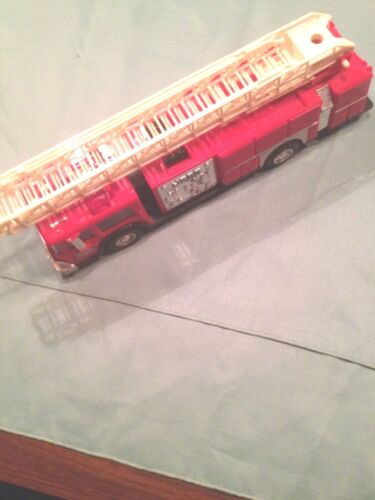 red hess fire truck