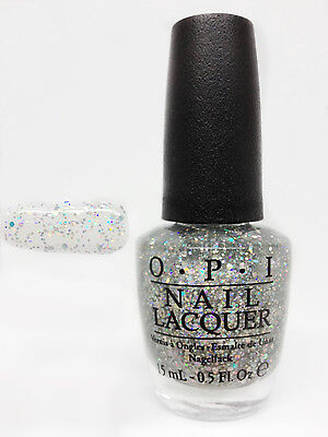 0.5 Ounce Glitter - OPI Nail Lacquer- Glitter Polish- Snowflakes In The Air   0.5oz/15ml