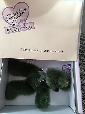 ANNETTE FUNICELLO MINTBEARY SLUSH BEAR BEAN BAG COLLECTION Mohair