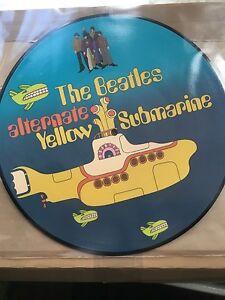 the Beatles - Yellow Submarine, picture disc vinyl