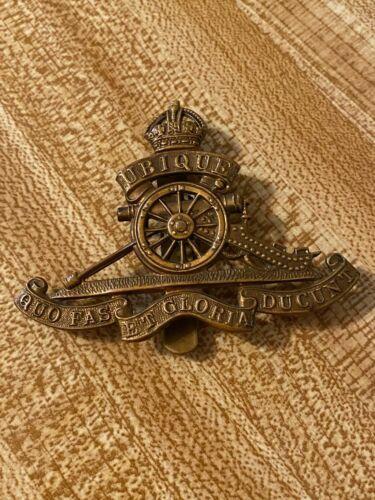 Vintage WW1 British Uniform Hat Badge-Beautiful-Free Shipping