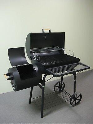 032 PROFI XL KIUG-Smoker BBQ GRILLWAGEN Holzkohle NEU ca.1,5 mm Stahl ca.32kg
