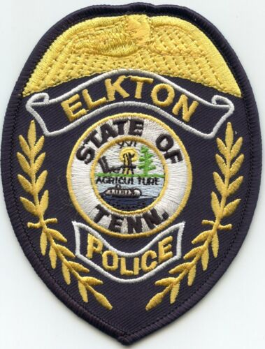ELKTON TENNESSEE TN POLICE PATCH