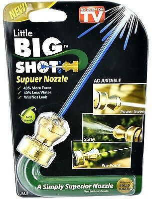 SPRAY NOZZLE GARDEN CONNECTOR WATERING WATER PIPE HOSE KIT SPRINKLER BRASS NEW