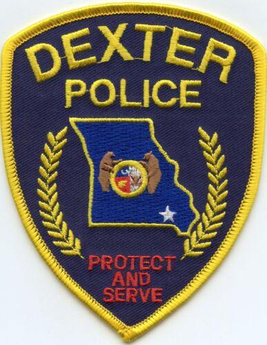 DEXTER MISSOURI MO POLICE PATCH