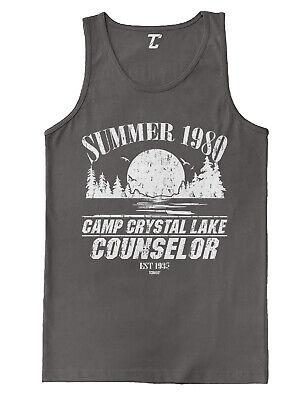 Summer 1980 Camp Crystal Lake Counselor- Voorhees horror Tank T-Shirt](Camp Crystal Lake)