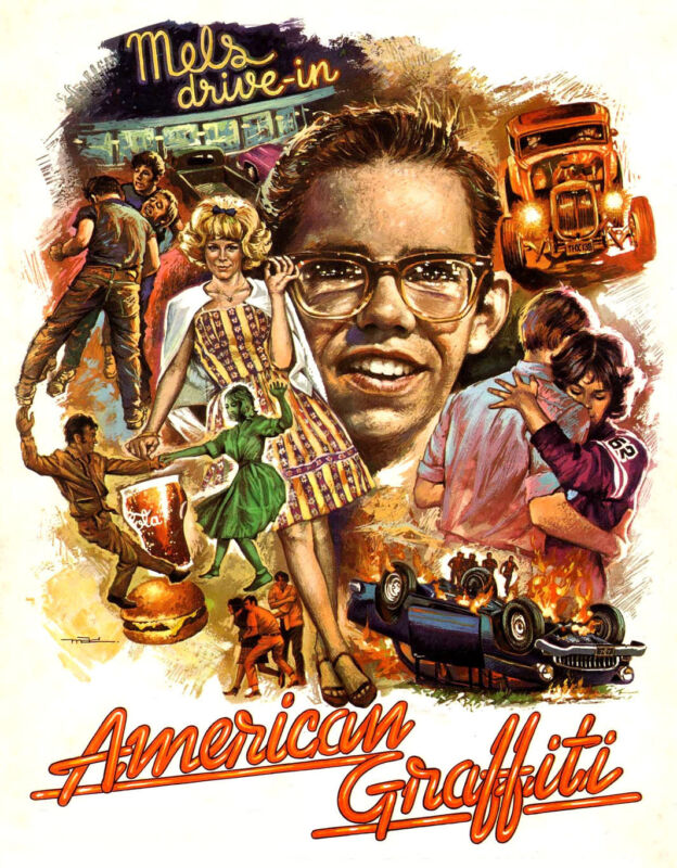 "American Graffiti 1973 - Movie Poster (8""x10"")"