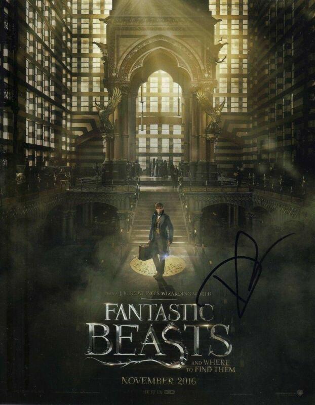 David Yates Signed 10X8 Photo Fantastic Beasts & Where to Find Them COA (5141)