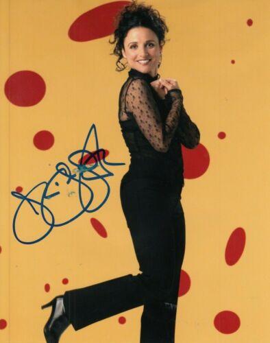 """JULIA LOUIS-DREYFUS signed (SEINFELD) 8X10 photo """"Elaine Benes"""" auto W/COA #2"""