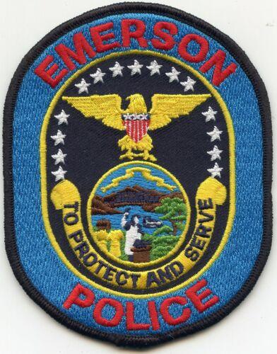 EMERSON NEBRASKA NE To Protect And Serve POLICE PATCH