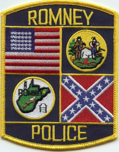 ROMNEY WEST VIRGINIA WV POLICE PATCH