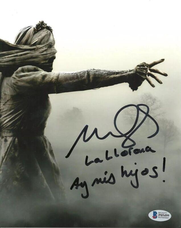MARISOL RAMIREZ signed 8x10 Poster The Curse of La Llorona Horror Movie Beckett