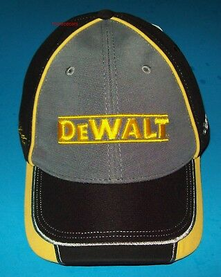 5adf2c0a94f9b Matt Kenseth Dewalt  20 Black Garage Stretch Fit NASCAR Hat Cap Chase  Authentics