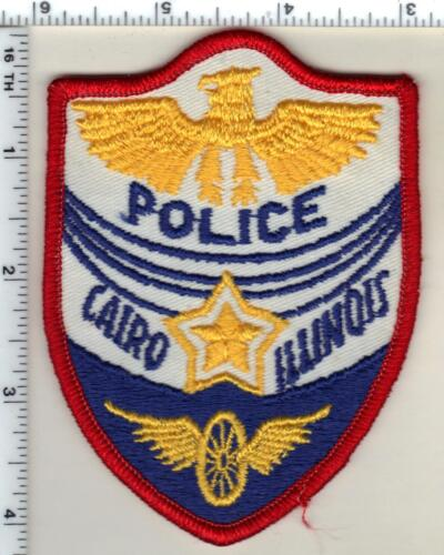 Cairo Police (Illinois)  Shoulder Patch - new from the 1980