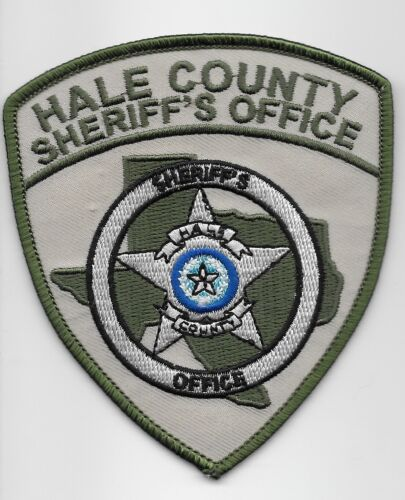 Hale County Sheriff State Texas TX NEW