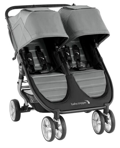 Baby Jogger City Mini 2 Twin Baby Double Stroller Slate NEW 2020
