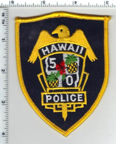 Hawaii 50 Police 3rd Issue Shoulder Patch